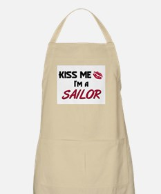 Kiss Me I'm a SAILOR BBQ Apron