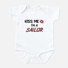 Kiss Me I'm a SAILOR Infant Bodysuit