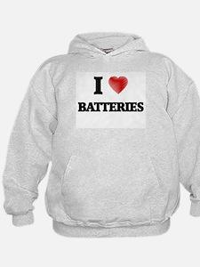 I Love BATTERIES Hoodie