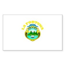 La Fortuna, Costa Rica Rectangle Decal