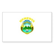 Heredia, Costa Rica Rectangle Decal
