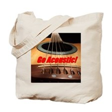 Go Acoustic Tote Bag