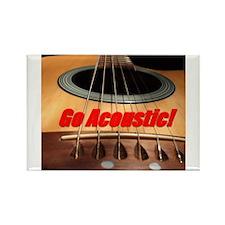 Go Acoustic Rectangle Magnet