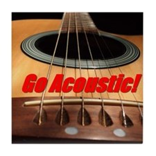 Go Acoustic Tile Coaster