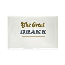 Drake Rectangle Magnet