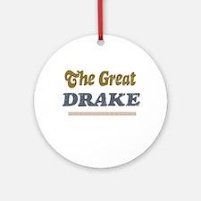 Drake Ornament (Round)