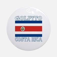 Golfito, Costa Rica Ornament (Round)