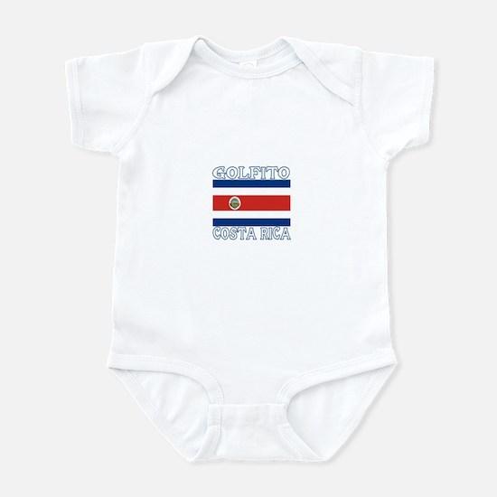 Golfito, Costa Rica Infant Bodysuit