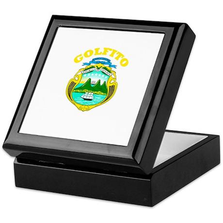 Golfito, Costa Rica Keepsake Box