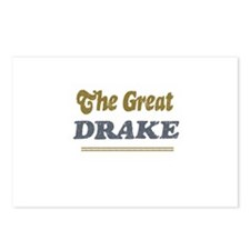Drake Postcards (Package of 8)