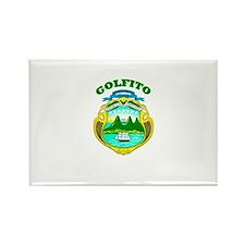 Golfito, Costa Rica Rectangle Magnet