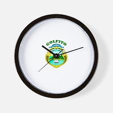 Golfito, Costa Rica Wall Clock
