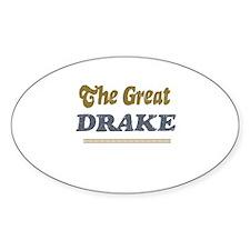 Drake Oval Decal