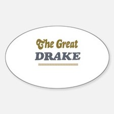 Drake Oval Decal