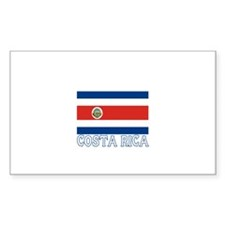 Costa Rica Rectangle Decal