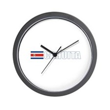 Cahuita, Costa Rica Wall Clock