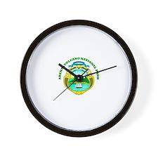 Arenal Volcano National Park Wall Clock