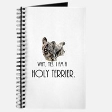 DOG - Why, yes. I am a Holy Terrier Journal
