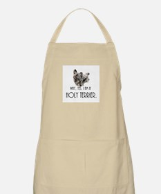DOG - Why, yes. I am a Holy Terrier Apron