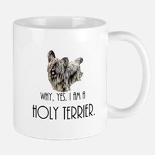 DOG - Why, yes. I am a Holy Terrier Mugs
