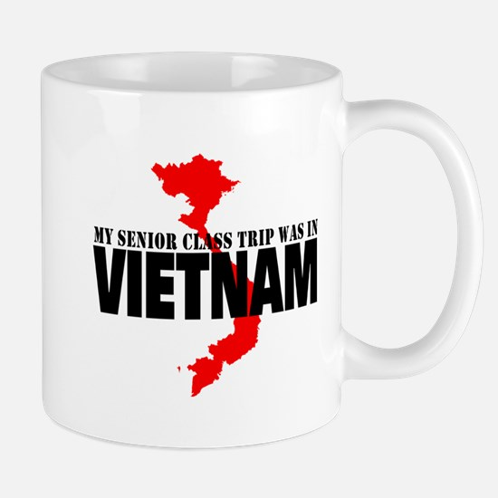 Vietnam senior class trip Mugs