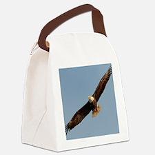 Cute Bald eagle Canvas Lunch Bag