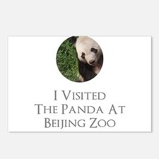 I Visited The Panda At Be Postcards (Package of 8)