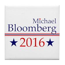 Michael Bloomberg Tile Coaster