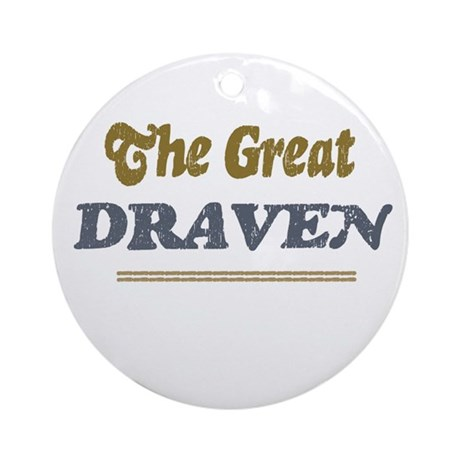 Draven Ornament (Round)