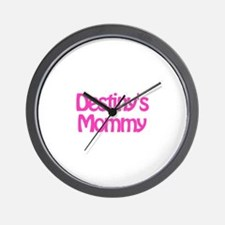 Destiny's Mommy Wall Clock