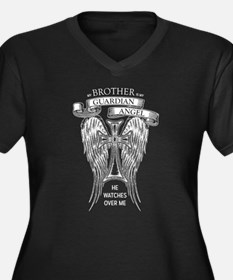 Guardian Angel Brother Plus Size T-Shirt