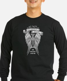 Guardian Angel Aunt Long Sleeve T-Shirt