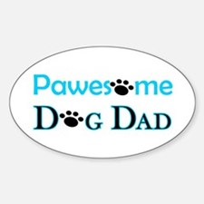 Pawesome Dog Dad Decal
