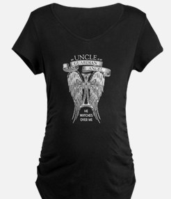 Guardian Angel Uncle Maternity T-Shirt