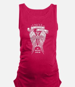 Guardian Angel Uncle Maternity Tank Top