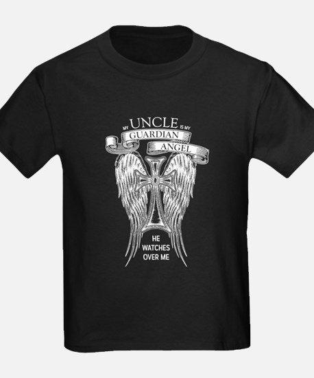 Guardian Angel Uncle T-Shirt