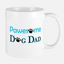 Pawesome Dog Dad Mugs