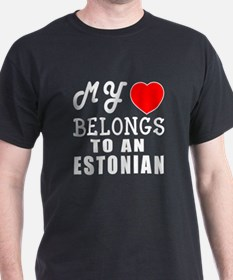 I Love Estonian T-Shirt