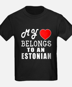 I Love Estonian T