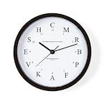 Dressage Arena Wall Clock