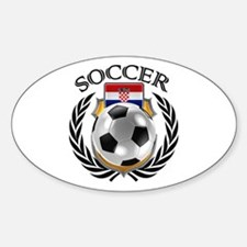 Croatia Soccer Fan Decal