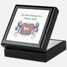 My heart belongs...Finnish Spitz Keepsake Box