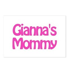 Gianna's Mommy Postcards (Package of 8)