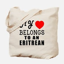 I Love Eritrean Tote Bag