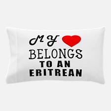 I Love Eritrean Pillow Case