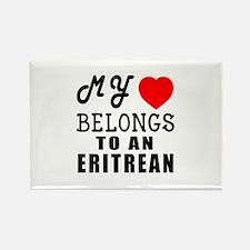 I Love Eritrean Rectangle Magnet
