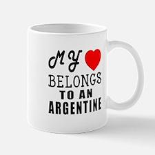 I Love Argentine Mug