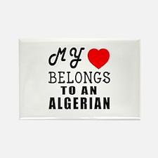 I Love Algerian Rectangle Magnet