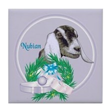 Nubian Goat Doe Tile Coaster
