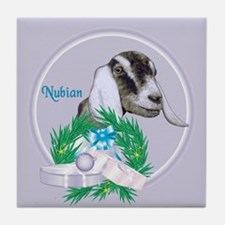 Nubian Goat Doe Tile Coaster